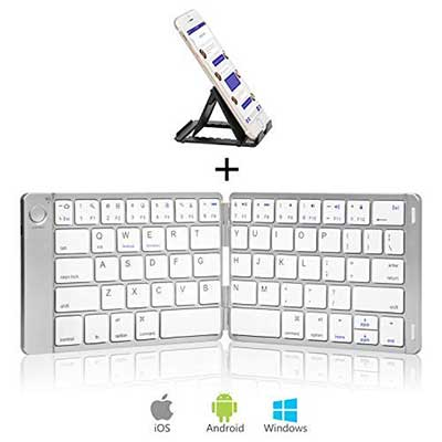 Sounwill Foldable Keyboard, Wireless Portable Keyboard