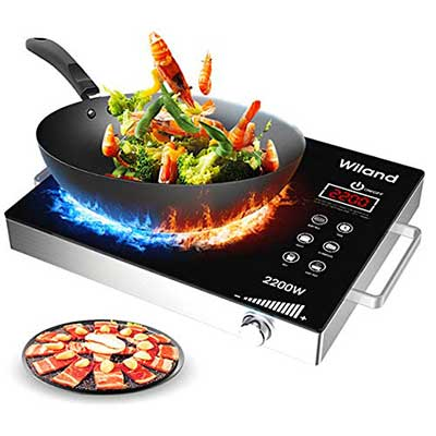 Portable Induction Cooktop by Wiland