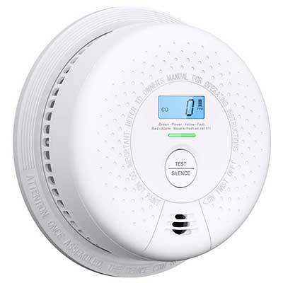 Combination Smoke Detector and Carbon Monoxide Detector