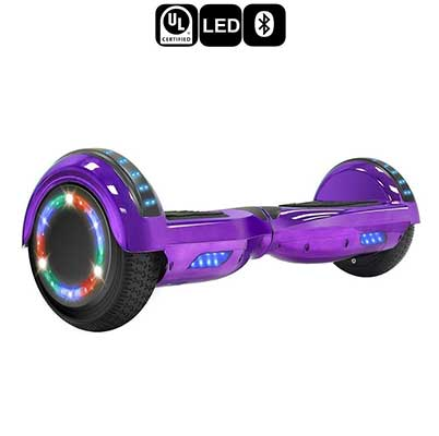 TPS 6.5-Inch Chrome Hoverboard