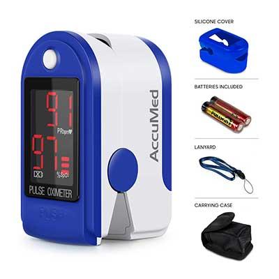 AccuMed CMS-50DL Fingertip Pulse Oximeter