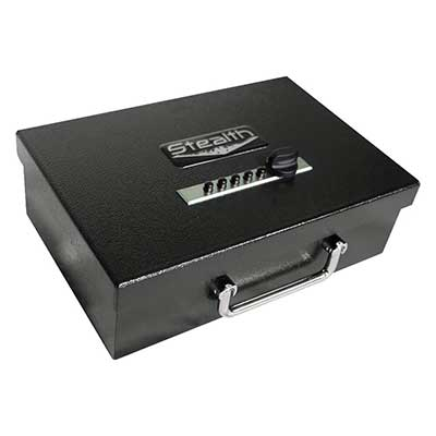 Stealth Portable Handgun Safe PS1208EZ