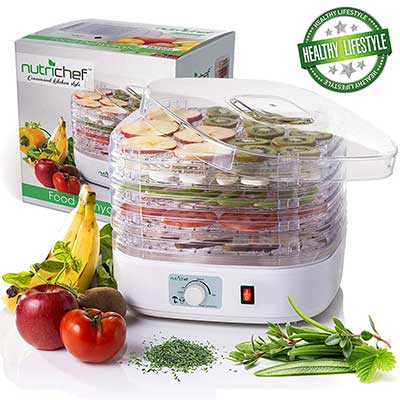 NutriChef Electric Multi-Tier Food Dehydrator Machine