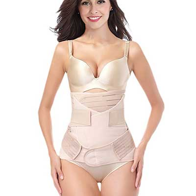 DICOOL 3 IN 1 Postpartum Support Recovery Girdle Corset