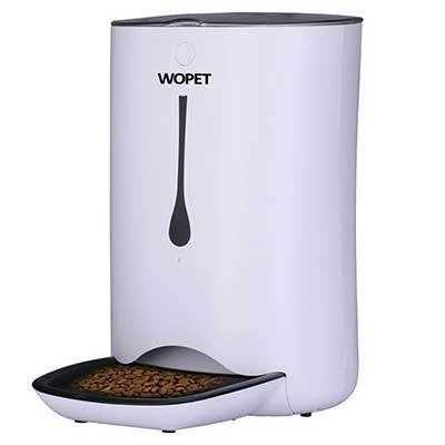WOPET Automatic Pet Feeder Food Dispenser