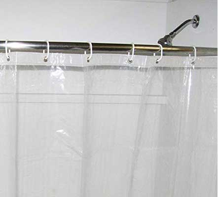 COB Products Clear Shower Curtain Liner