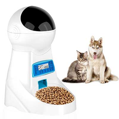 JOYTOOL Automatic Pet Feeder Food Dispenser