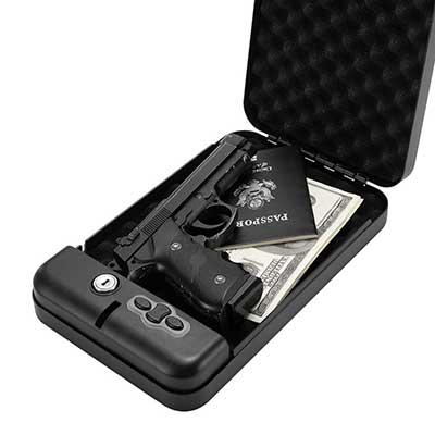 RPNP Gun Safe, Smart Pistol Safe