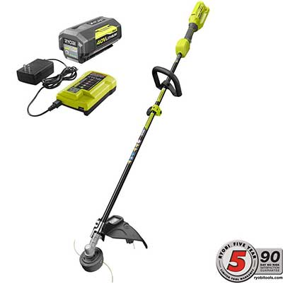 RYOBI 40-Volt Lithium Battery-Ion Cordless Attachment Capable String Trimmer