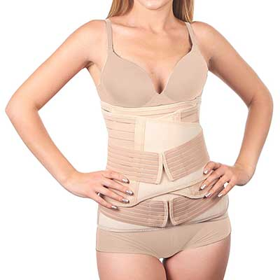 3 in 1 Postpartum Belly Support Recovery Wrap