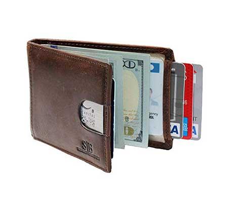 SERMAN BRANDS RFID Blocking Slim Bifold Wallet