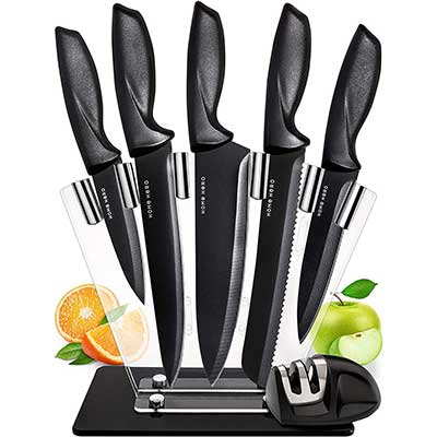 Chef Knife Set Knives Kitchen Set by Home Hero
