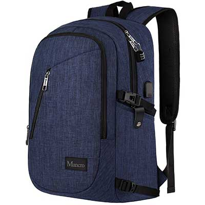 College Backpack, Business Slim Laptop Backpack