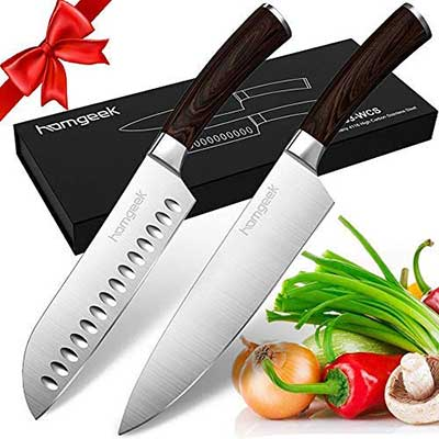 Homgeek Kitchen Chef's Knife Set