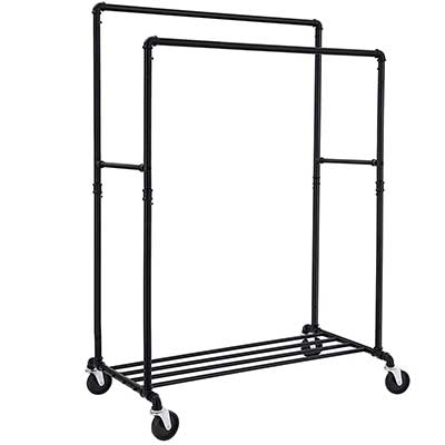 SONGMICS Industrial Pipe Clothes Rack
