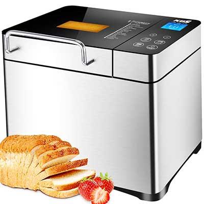 KBS Bread Machine, Automatic 2LB Bread Maker