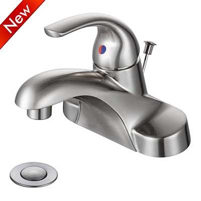 WOWOW Bathroom Faucet 1 Handle
