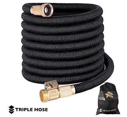 Triple Hose Heavy Duty Expandable Garden Hose