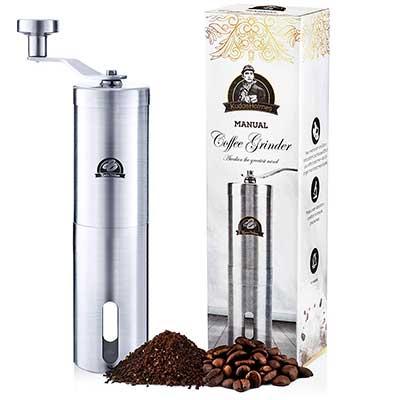 Manual Coffee Grinder by KudosHolmes