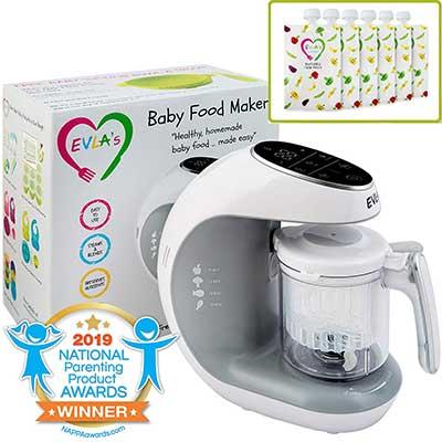 Baby Food Maker| Baby Food Processor Blender Grinder by EVLA's