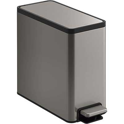 KOHLER K-20957-ST 2.5 Gallon Slim Step Trash Can