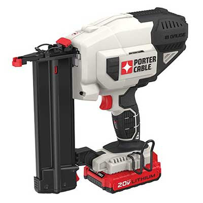 PORTER-CABLE 20V MAX Cordless Brad Nailer Kit