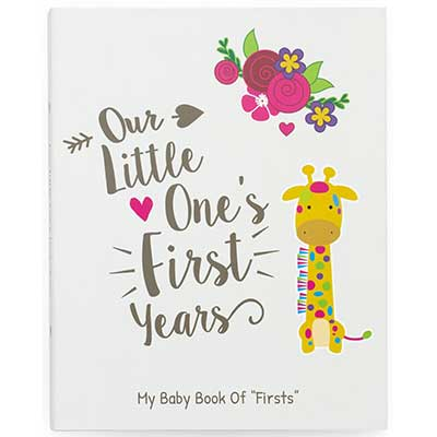 Ronica First-Year Baby Memory Book & Journal