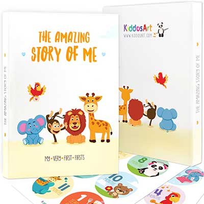 The Amazing Baby Memory Book by KiddosArt