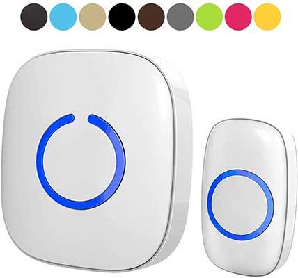 Wireless Doorbell – SadoTech Door Bells & Chimes Wireless Door Bell Kit