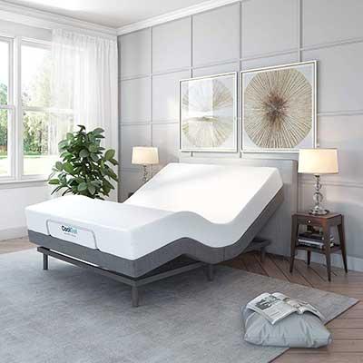 Classic Brands Adjustable Upholstered Bed Base