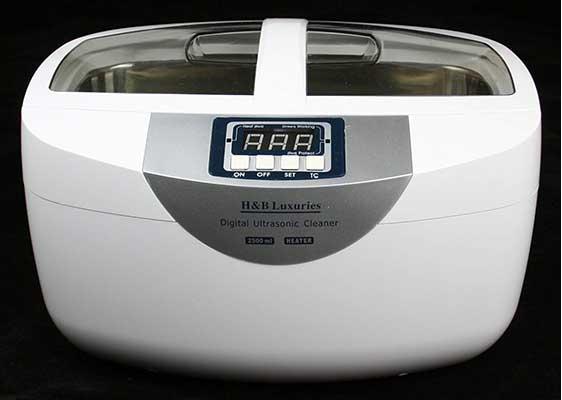 H&B Luxuries Digital Heated Ultrasonic Cleaner