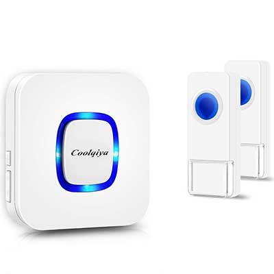 Coolqiya Wireless Doorbells Chimes