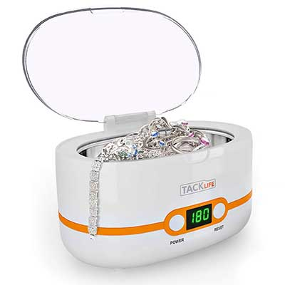 TACKLIFE Compact Ultrasonic Jewelry Cleaner