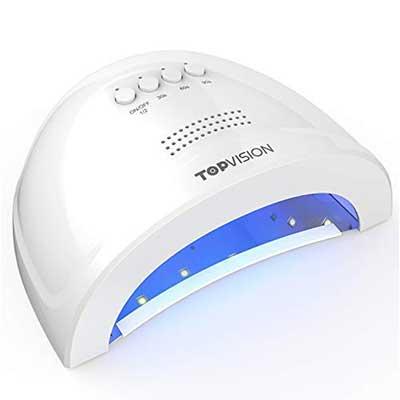 TOPVISION 48W/24W UV LED Nail Lamp