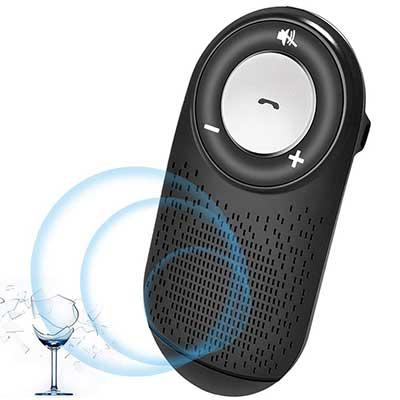 Aigital Bluetooth Handsfree Car Speaker Kit