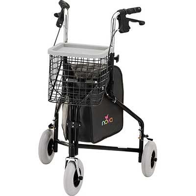 NOVA Traveler 3 Wheel Rollator Walker