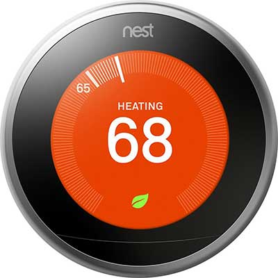 Google, T3008US, Nest Learning Thermostat