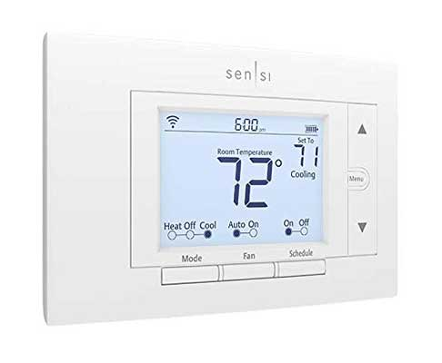 Emersion Sensi Wi-Fi Smart Thermostat for Smart Home
