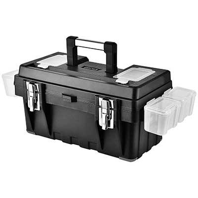 GANCHUN 16-Inch Plastic Tool Box