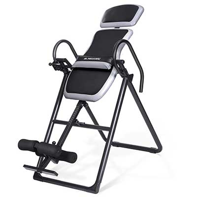 MaxKare Inversion Equipment Table with Adjustable Headrest and Lumbar Support