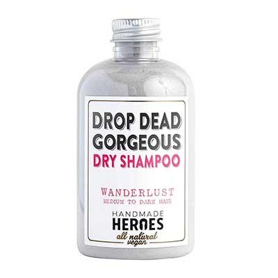 All Natural, Vegan Dry Shampoo Powder