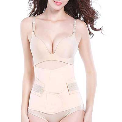 Trendyline Postpartum Girdle Corset Recovery Belly Band