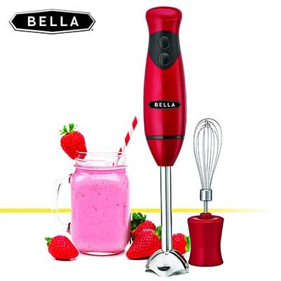 BELLA 14460 2-Speed Hand Whisk Immersion Blender