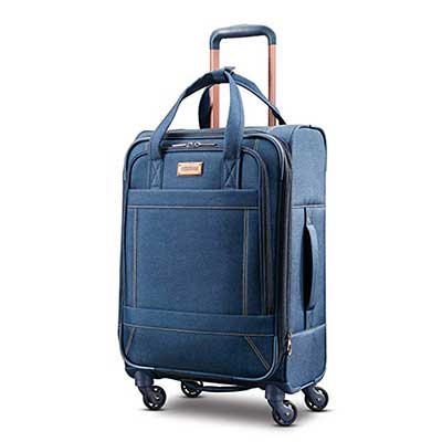 American Tourister Belle Voyage Expandable Softside Luggage with Spinner Wheels