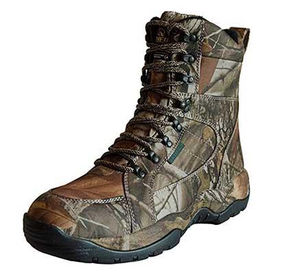 R RUNFUN Men's Lightweight Waterproof Hunting Boots