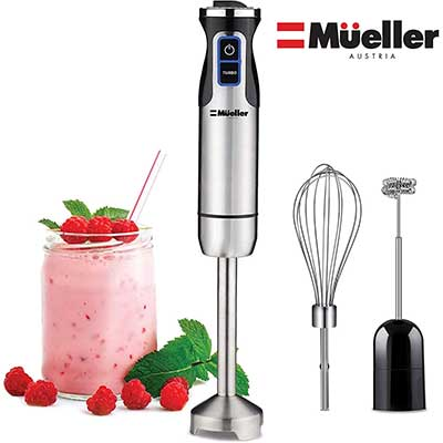 Mueller Austria Ultra-Stick 500 Watt 9-Speed Immersion Blender