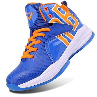 WETIKE Kid's Basketball Shoes High-Top Sneakers