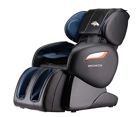 NFL Zero Gravity Full Body Electric Shiatsu Massage Chair