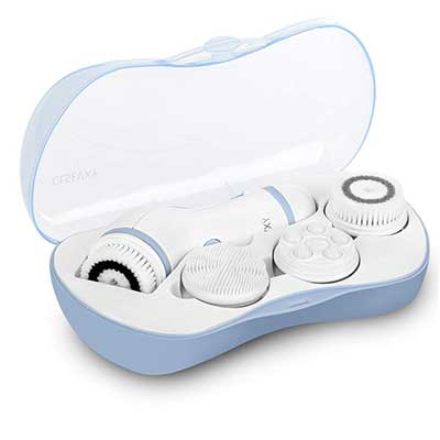 Facial Cleansing Brush Waterproof Spin Brush Set