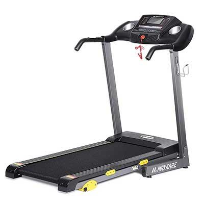 MaxKare Folding Treadmill Electric